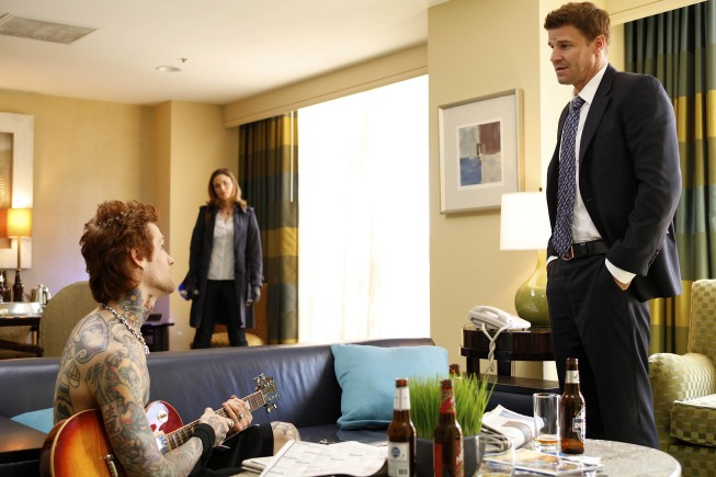 Bones Season 5 Episode 19 The Rocker In The Rinse Cycle Promo Photos