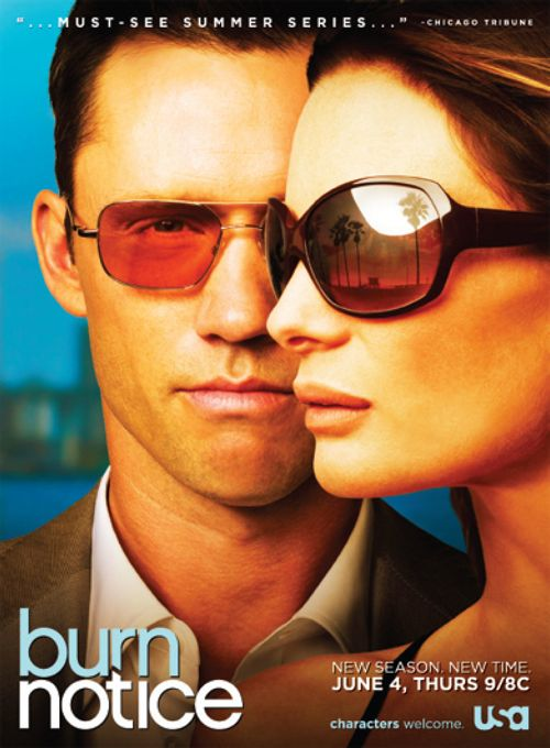 Burn Notice Season 3 Poster