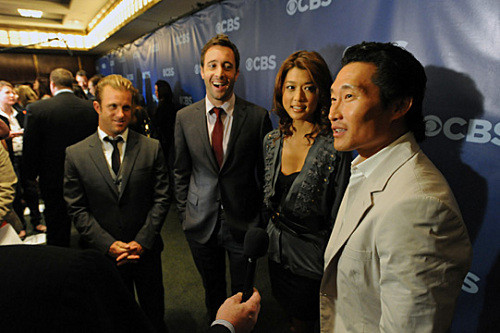 HAWAII FIVE-O Cast CBS Upfront