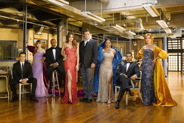 CASTLE Season 3 Cast Promo Photo