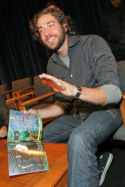 Chuck Paley Festival 2008 Zach Levi Photo