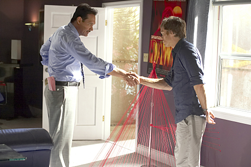 Jimmy Smits as Miguel Prado on Dexter