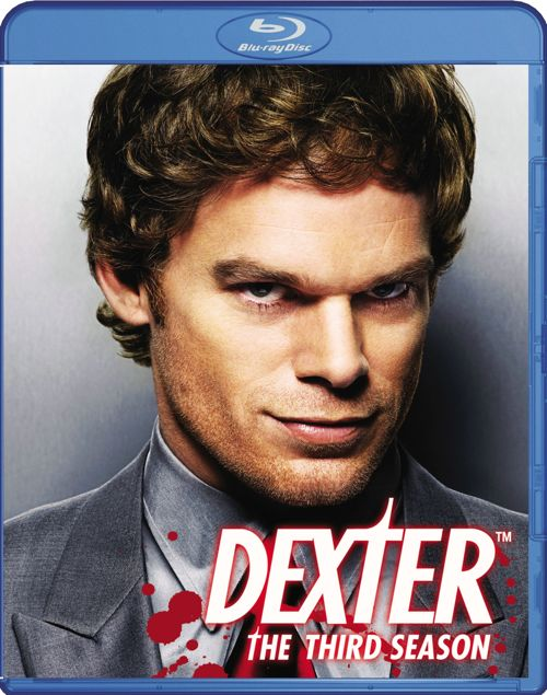 Dexter Season 3 Blu-ray Cover