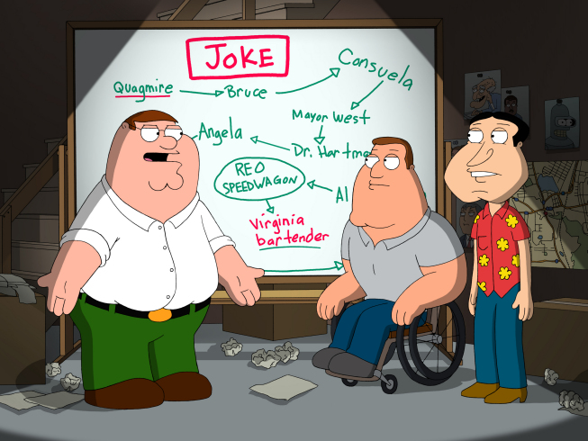 The Family Guy Season 7 Episode 19 The Splendid Source Promo Pics