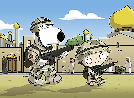 Family Guy Saving Private Brian Photo