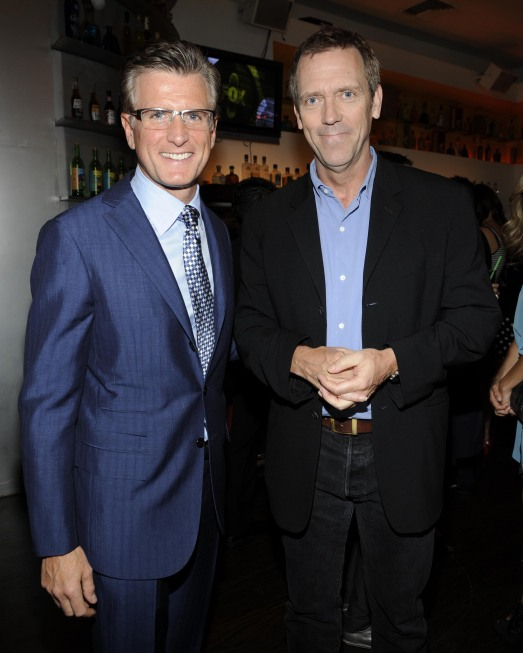 Fox 2010 Upfront Photos Hugh Laurie