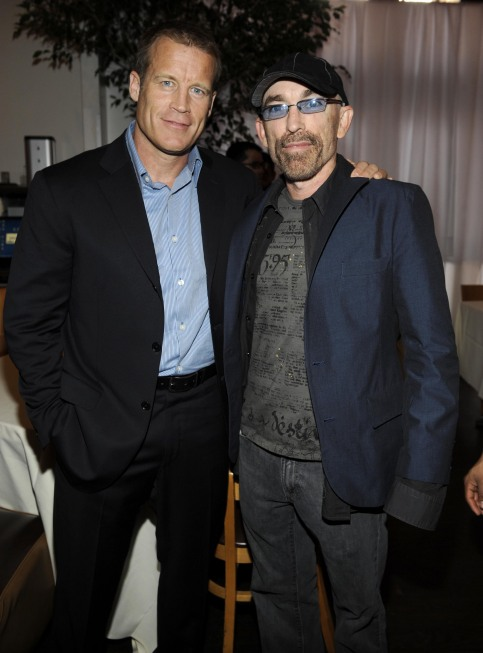 Fox 2010 Upfront Photos Mark Valley and Jackie Earle Haley