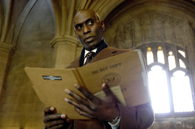 Lance Reddick On Fringe