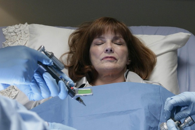 Blair Brown as Nina on Fringe