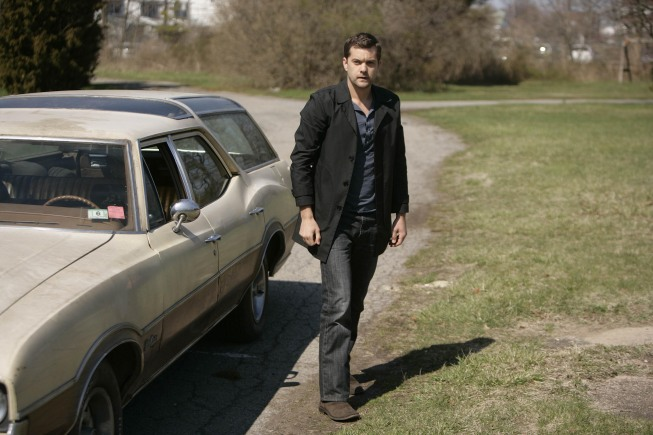 Josh Jackson as Peter Bishop on Fringe
