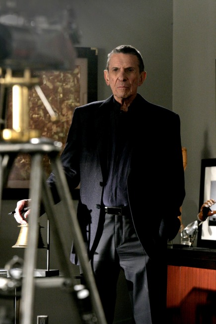 Leonard Nimoy as William Bell on Fringe