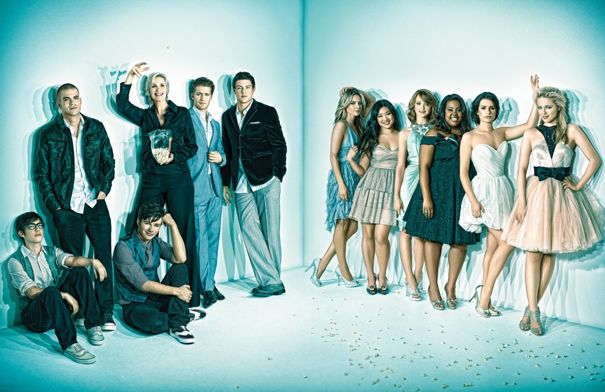 GLEE Emmy Magazine Photos
