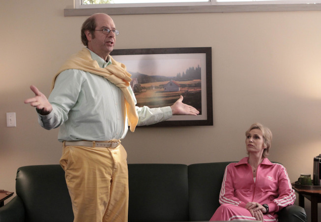 GLEE Stephen Tobolowsky Jane Lynch