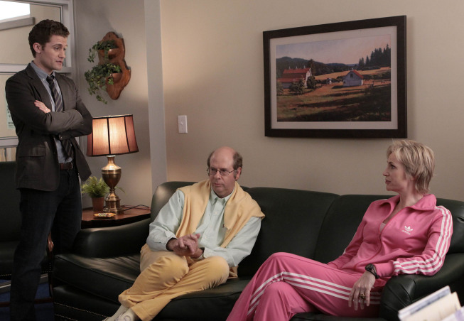 GLEE Matthew Morrison Stephen Tobolowsky Jane Lynch