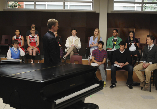 GLEE Season 1 Episode 19 Dream On Promo Photos