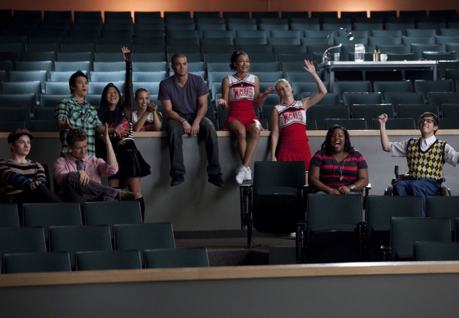 GLEE Season 2 Episode 1 Audition