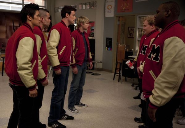 GLEE Super Bowl Episode Photos