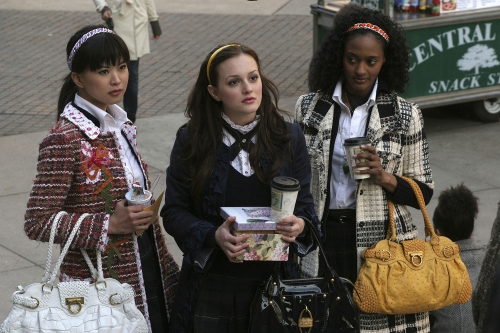 Leighton Meester As Blair In Gossip Girl