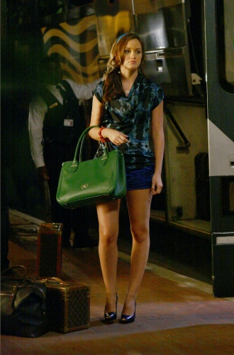 Leighton Meester As Blair On Gossip Girl