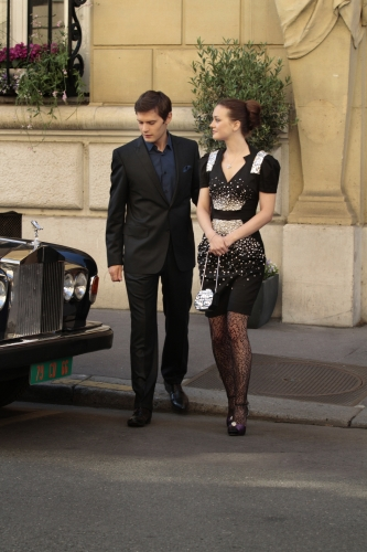 Hugo Becker Leighton Meester Gossip Girl