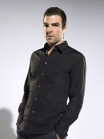 HEROES -- Pictured: Zachary Quinto as Sylar -- NBC Photo: Mitchell Haaseth