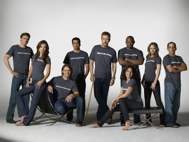House Season 5 Cast Photo T-Shirt