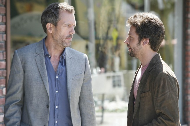 Hugh Laurie And Michael Weston On House