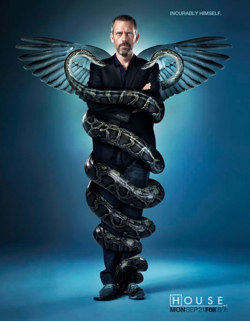 House Caduceus Poster