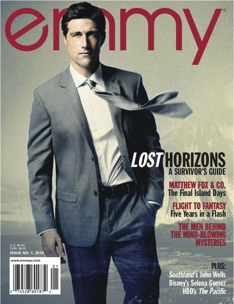 Matthew Fox Emmy Magazine Cover