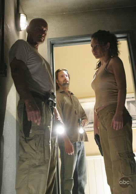 Photo Of Locke Kate and Sawyer From Lost