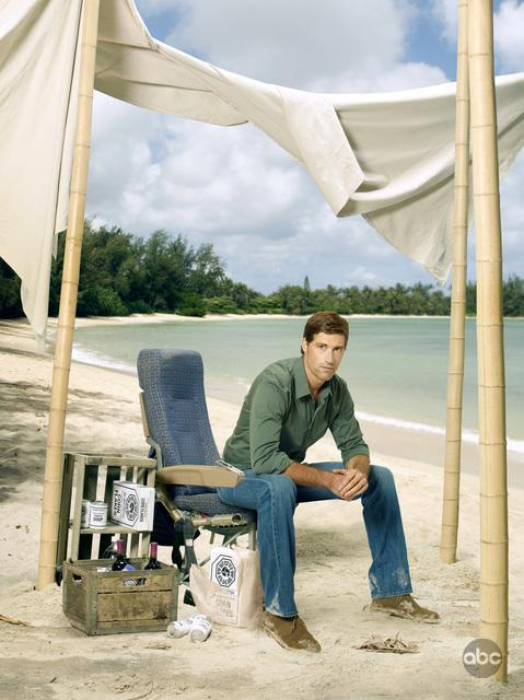 Lost Season 6 Cast Promo Photos Matthew Fox As Jack