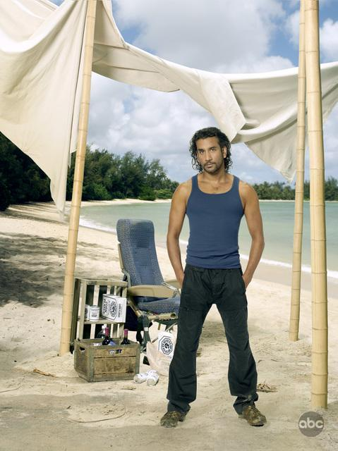 Lost Season 6 Cast Promo Photos Naveen Andrews As Sayid