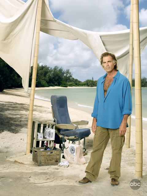 Lost Season 6 Cast Promo Photos Jeff Fahey As Frank Lapidus