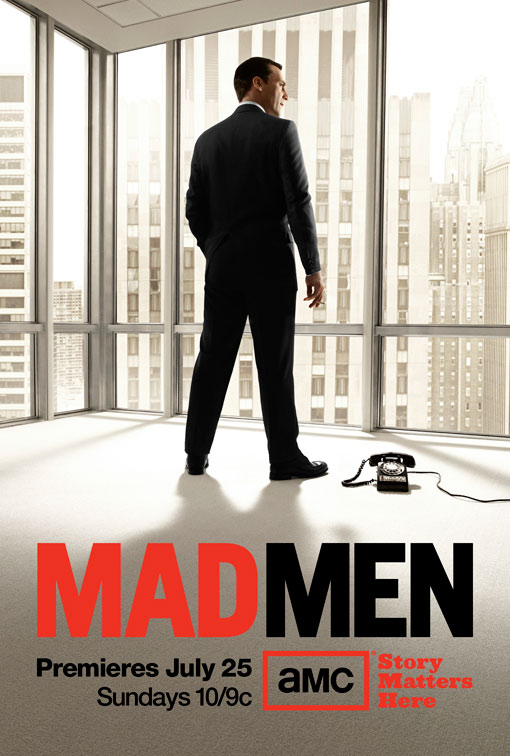 MAD MEN Season 4 Promo Poster