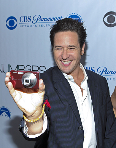 Numb3rs 100th Episode Party Rob Morrow