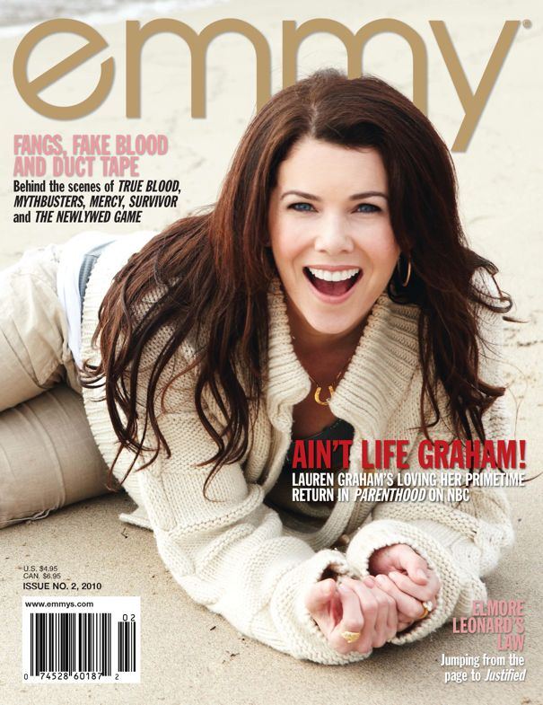 Lauren Graham Emmy Magazine Cover