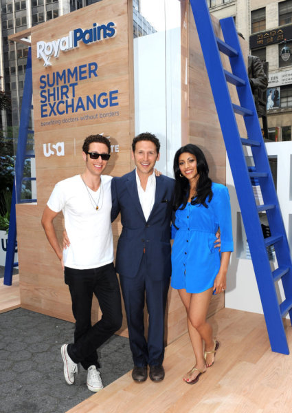 ROYAL PAINS Lacoste Event Photos