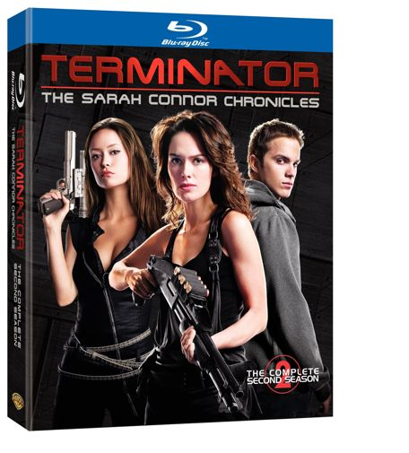 Terminator Sarah Connor Chronicles Season 2 Blu-ray Disc