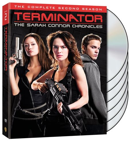 Terminator Sarah Connor Chronicles Season 2 DVD