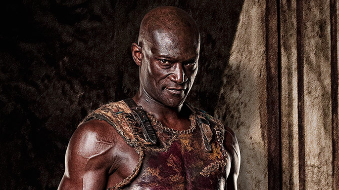 Spartacus Blood And Sand Doctore played by Peter Mensah