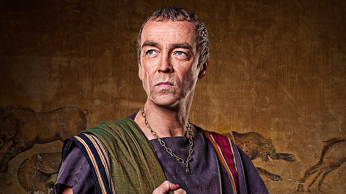 Spartacus Blood And Sand Batiatus played by John Hannah