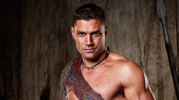 Manu Bennett Spartacus Blood And Sand