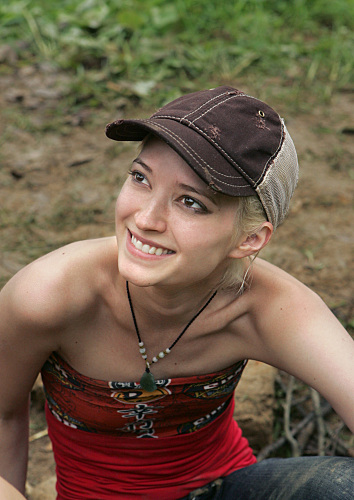 Courtney Yates Survivor China Photo
