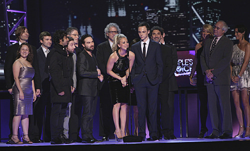The Big Bang Theory People's Choice Awards Photos