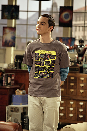 Sheldon on The Big Bang Theory