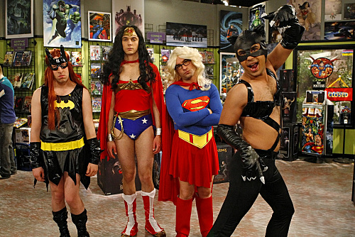 Big Bang Theory Girl Costume Photo