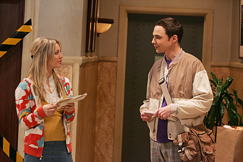 Penny And Sheldon The Big Bang Theory