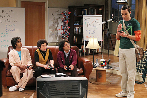 The Big Bang Theory Season 3 Episode 22 The Staircase Implementation Photos