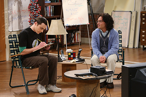 The Big Bang Theory Season 3 Episode 22 The Staircase