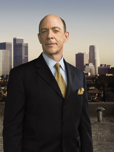 JK Simmons As Chief Pope On The Closer